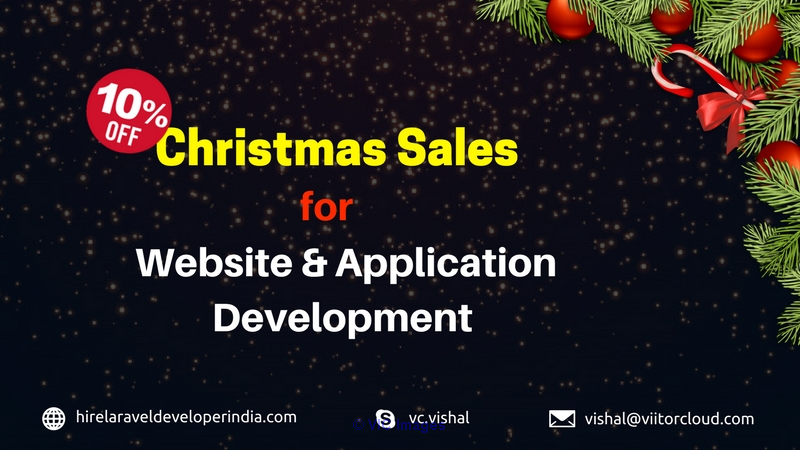 Christmas Sales for Website & Application Development newyork