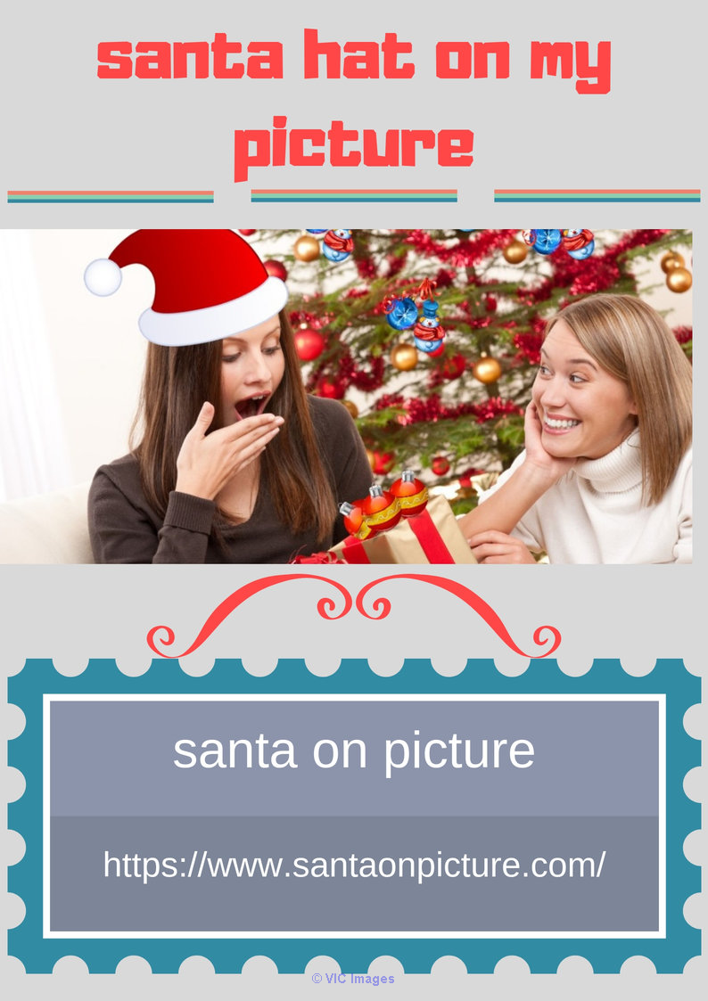 Create santa hat on my picture album newyork
